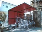 自転車置場テント